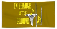 Trombones In Charge Of The Groove 5534.02 Beach Towel