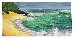 Tropical Beach Beach Towel