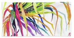 Tropical Fernery Beach Towel