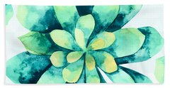 Tropical Flower  Beach Towel