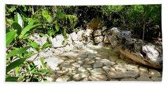 Tropical Hiding Spot Beach Towel