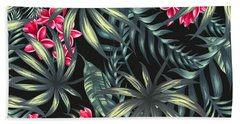 Plants Beach Towels