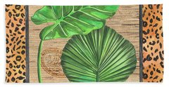 Tropical Palms 1 Beach Towel