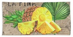 Tropical Palms 5 Beach Towel