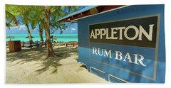 Tropical Rum Bar Beach Towel