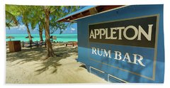 Tropical Rum Bar Beach Towel