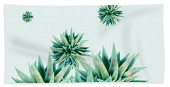 Tropical Stars  Beach Towel