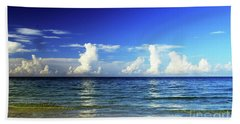 Beach Sheet featuring the photograph Tropical Storm Brewing by Gary Wonning