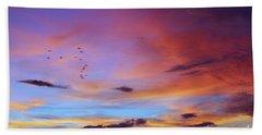 Tropical North Queensland Sunset Splendor  Beach Sheet by Kerryn Madsen-Pietsch
