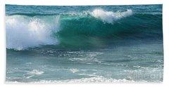 Tropical Treasure Coast Florida Seascape Wave 99 Beach Sheet