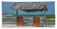 Tropical Vacation Beach Sheet by Patricia Hofmeester
