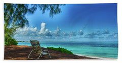 Tropical View Beach Towel