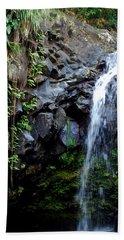 Tropical Waterfall Beach Sheet