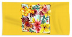 Beach Towel featuring the photograph Tropicana By Kaye Menner by Kaye Menner