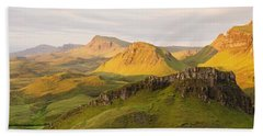 Trotternish Summer Panorama Beach Towel