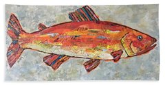 Trudy The Trout Beach Towel