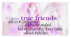 True Friends Beach Towel