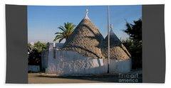 Trullo, Ostuni, Puglia Beach Towel