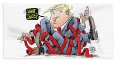 Trump Chaos Beach Towel