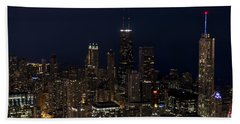 Beach Towel featuring the photograph Trump Hotel by Andrea Silies