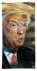 Trump Beach Towel