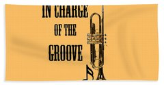 Trumpets In Charge Of The Groove 5536.02 Beach Towel