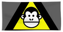Trunk Monkey Beach Towel