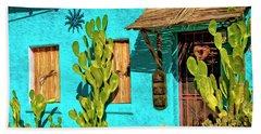 Tucson Blue Beach Towel