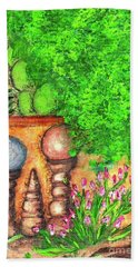 Tucson Garden Beach Towel