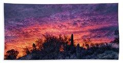 Tucson Sunrise Beach Towel