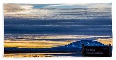 Tule Lake National Wildlife Refuge Beach Towel