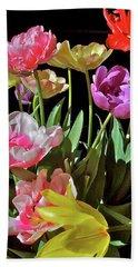 Tulip 8 Beach Sheet by Pamela Cooper
