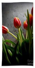 Tulip Bouquet 2 Beach Sheet by Mary-Lee Sanders