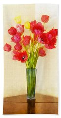 Tulip Bouquet Beach Towel