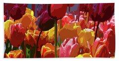 Tulip Confusion Beach Sheet