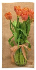 Tulip Impasto Beach Sheet