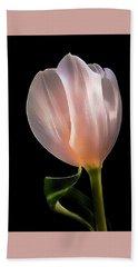 Tulip In Light Beach Towel