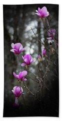 Tulip Magnolia Tree Art II Beach Towel