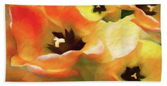 Tulip Sheen 3  Beach Towel
