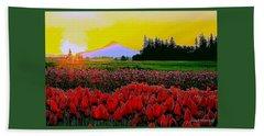 Tulip Sunrise Beach Sheet