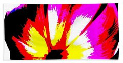 Tulip Beach Towel by Tim Townsend