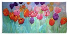 Tulip Timeless By Lisa Kaiser Beach Towel