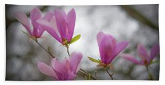 Tulip Tree Art Beach Sheet