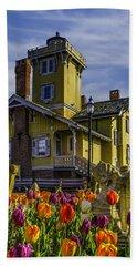 Tulips Af Hereford Light Beach Towel