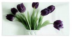 Tulips For You Beach Sheet