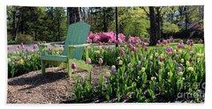 Tulips Toledo Botanical Gardens 0573 Beach Towel