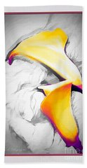 Lilies Lily Beach Towel