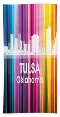 Tulsa Ok 2 Vertical Beach Towel