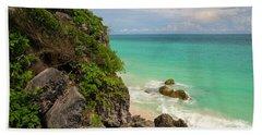 Tulum Scenery Beach Sheet
