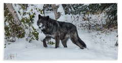 Tundra Wolf 6701 Beach Towel